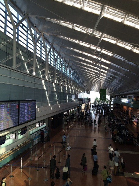 Haneda airport japan ANA
